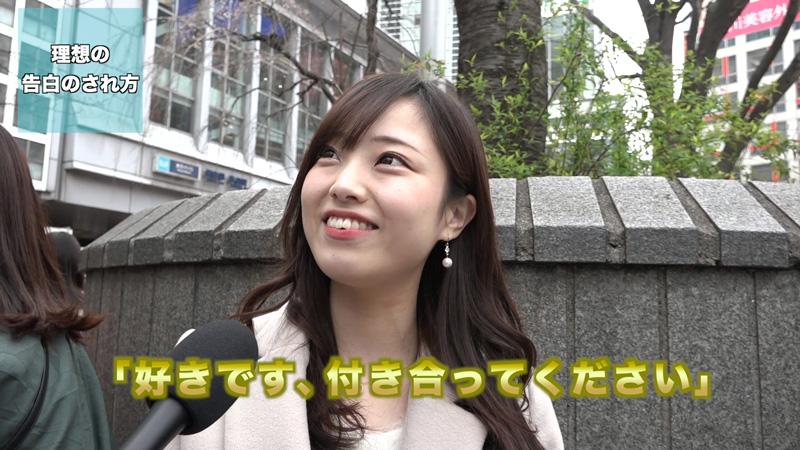 渋谷女子カメラ向けられたから語ってみた理想の告白
