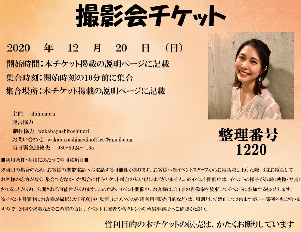 丸岡雅子撮影会電子チケット